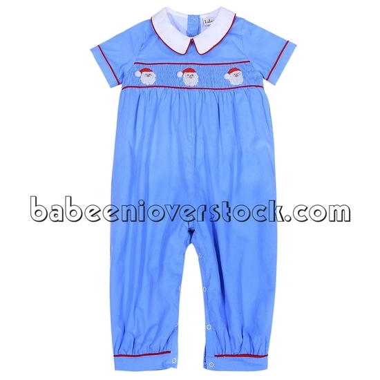 Introduction for parents to wear and unfasten baby smocked bubble for infants