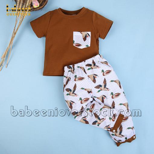 Mallard printed boy clothing – BB2369