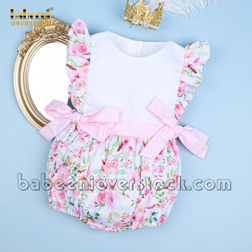 Elegant girl bubble white chest blossom printed 4.0 - BB2359