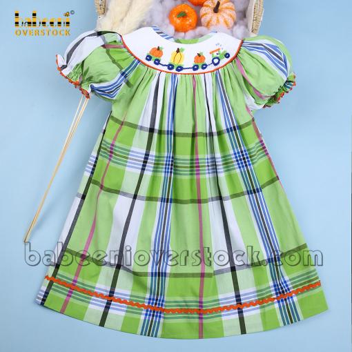Baby Thanksgiving bishop dress - BB2185